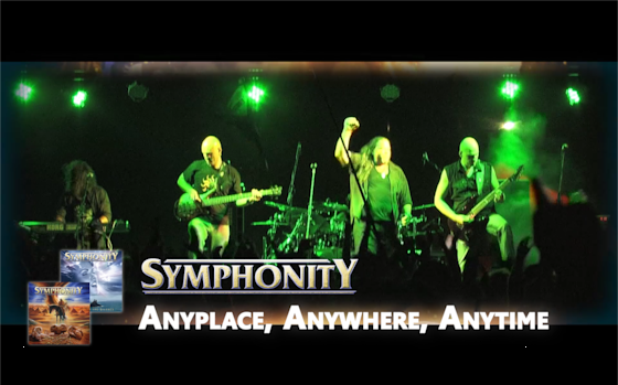 SYMPHONITY - Anyplace, Anywhere, Anytime (Nena cover) - Official Music Video